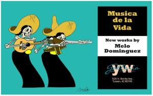 Musica de la Vida- New Works by Melo Dominguez @ The Galleria at the YWCA Tucson | Tucson | Arizona | United States